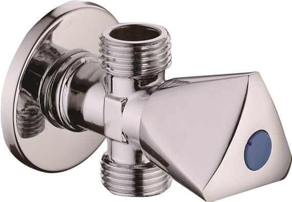 3 way angle valve