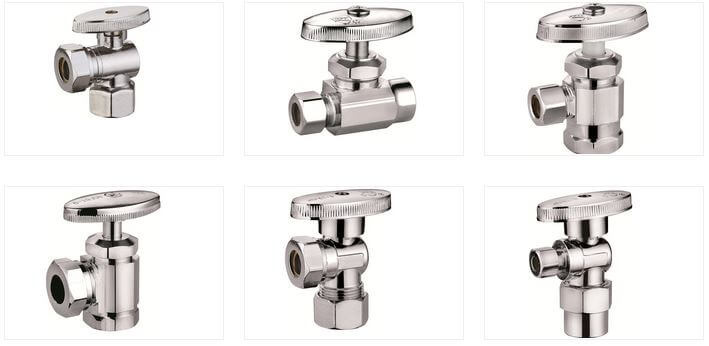 Multi turn angle valves for different pressure ratings