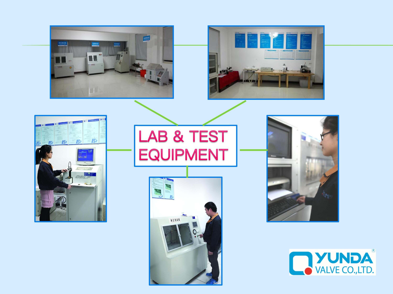 chrome angle valve testing lab