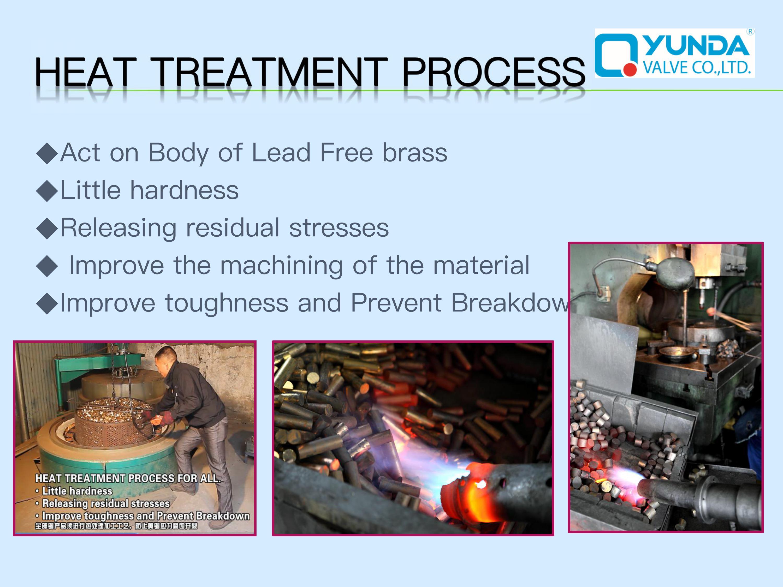Angle Valve heat treatment process