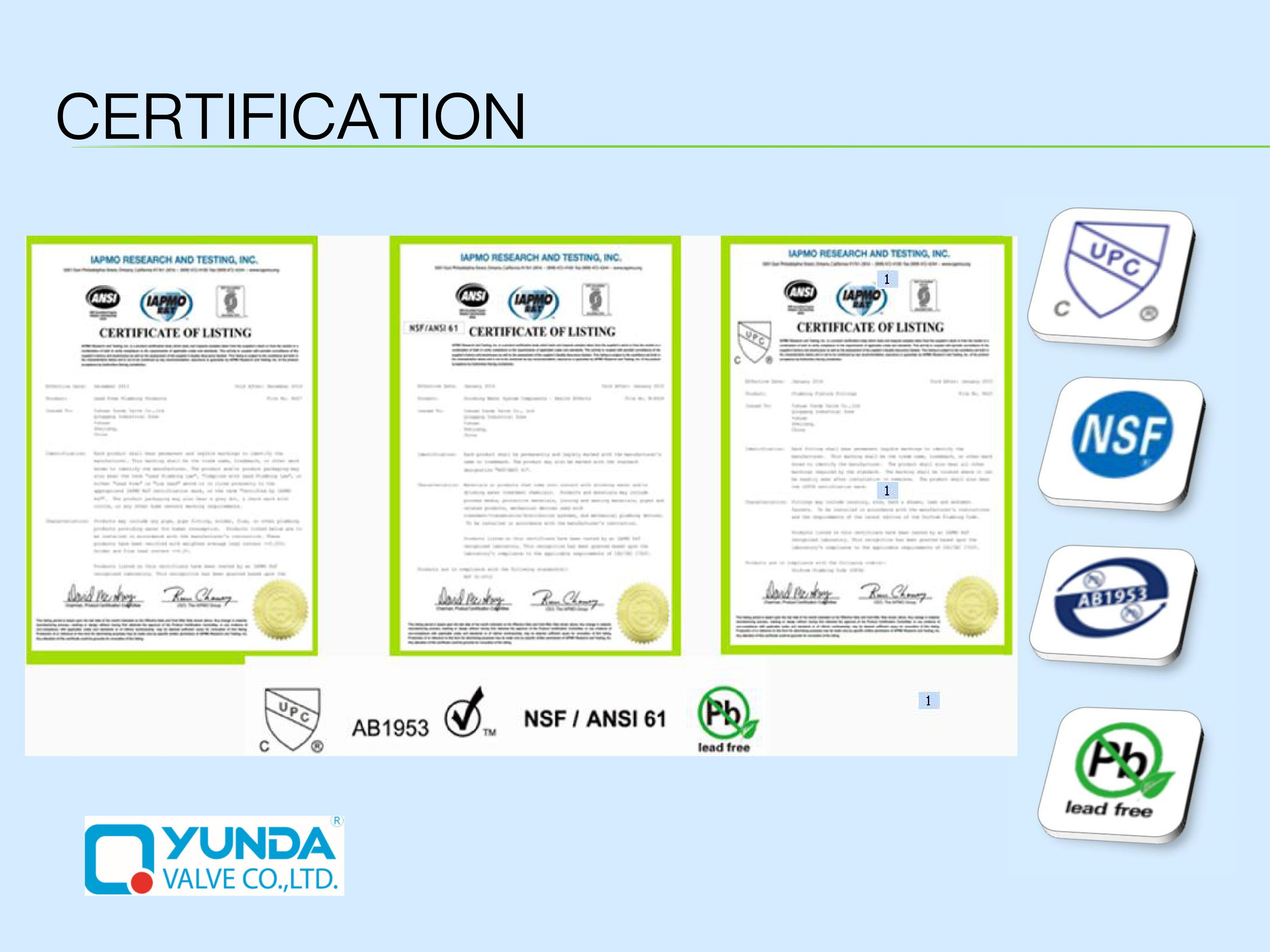 cupc certification for us market certifications