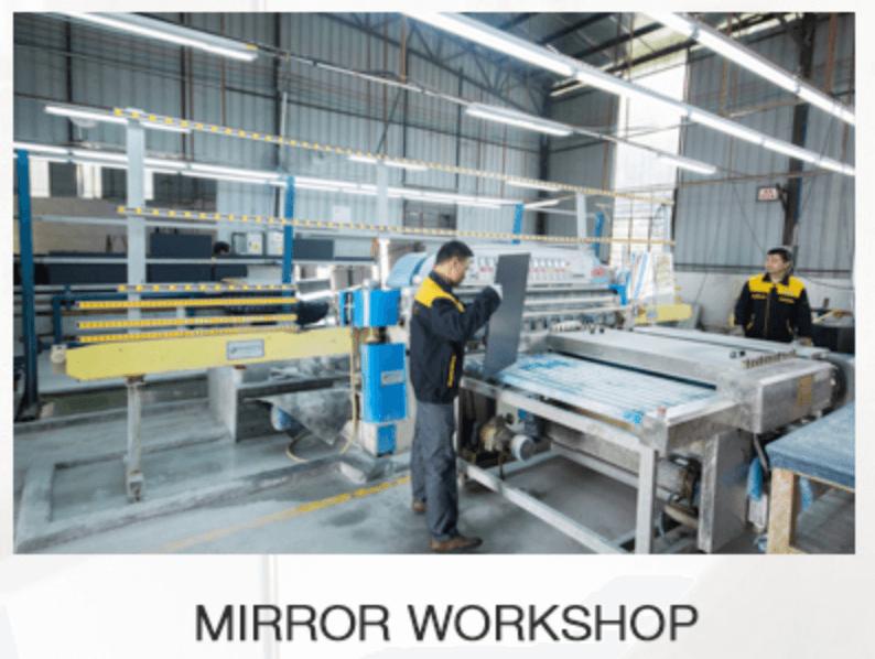 led bluetooth mirror