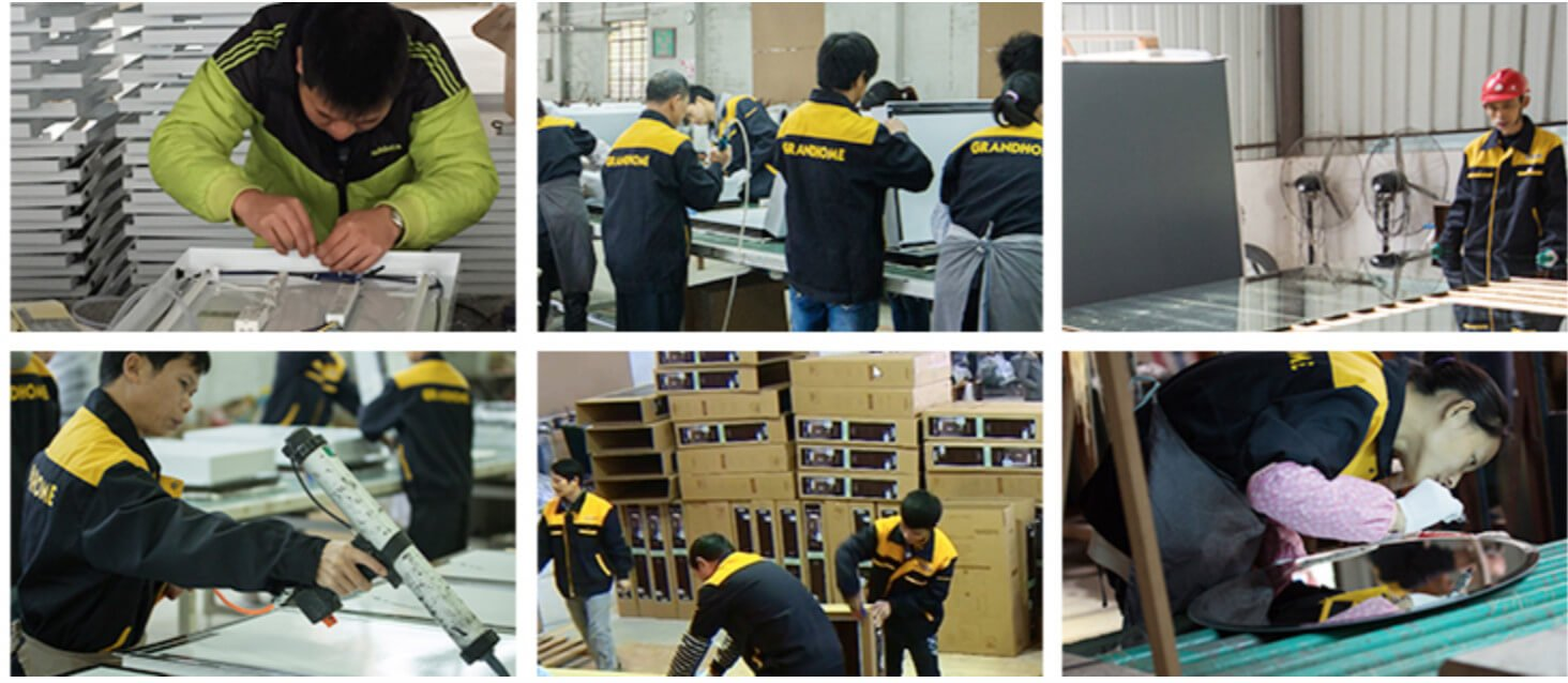 Wall Mirror Manufacturer assembly