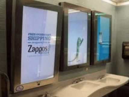 Advertising Mirror