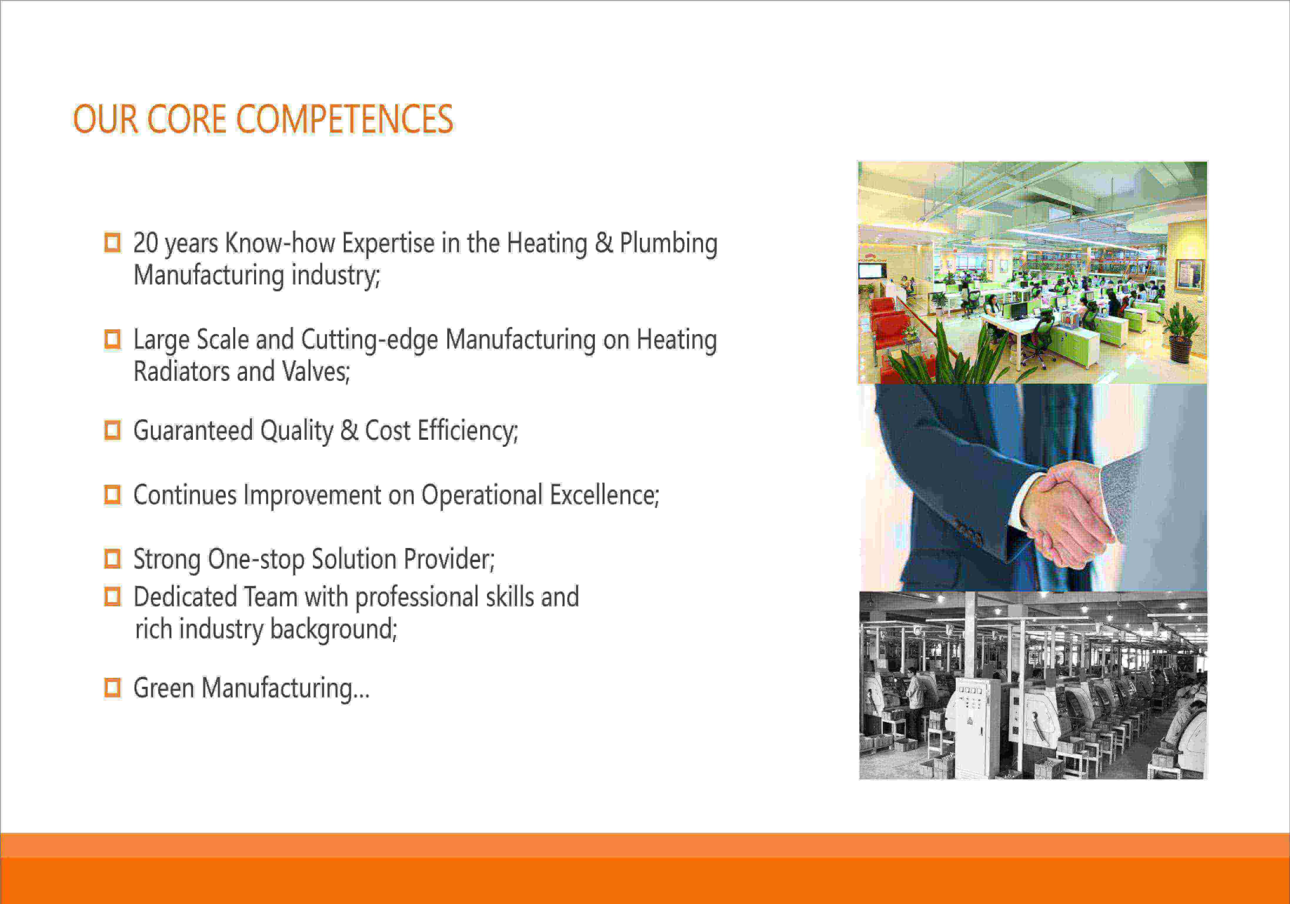 towel radiator manufacturers competences