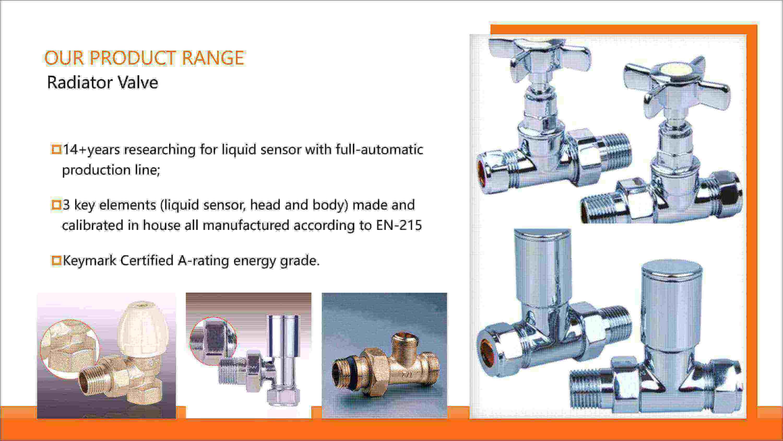 towel radiator manufacturers valve