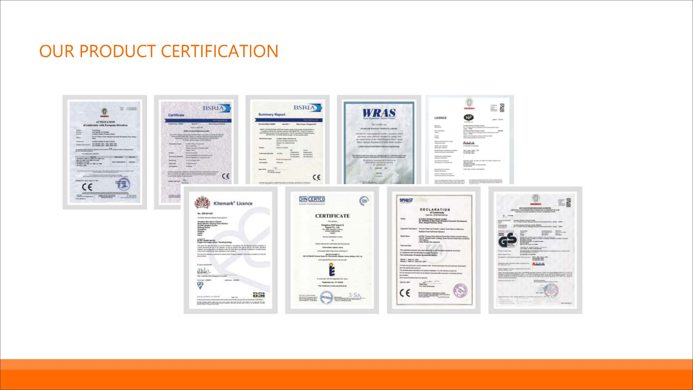 towel radiator manufacturers certifications