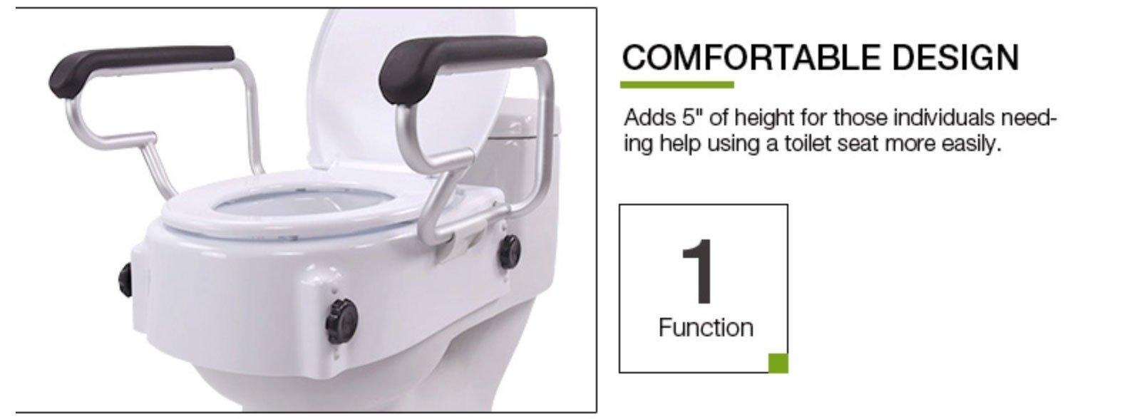 raised toilet seats