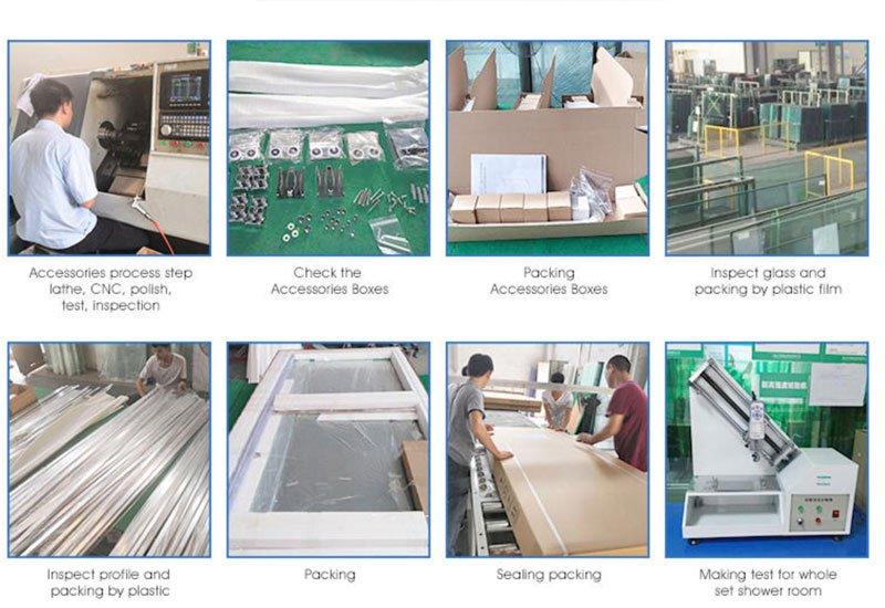 glass shower enclosure manufacturers process
