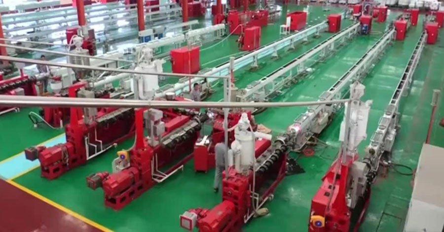 pex pipe manufacturers workshop