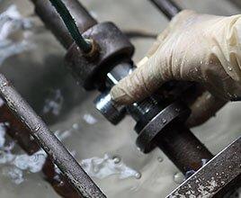 yunda mini angle valve testing