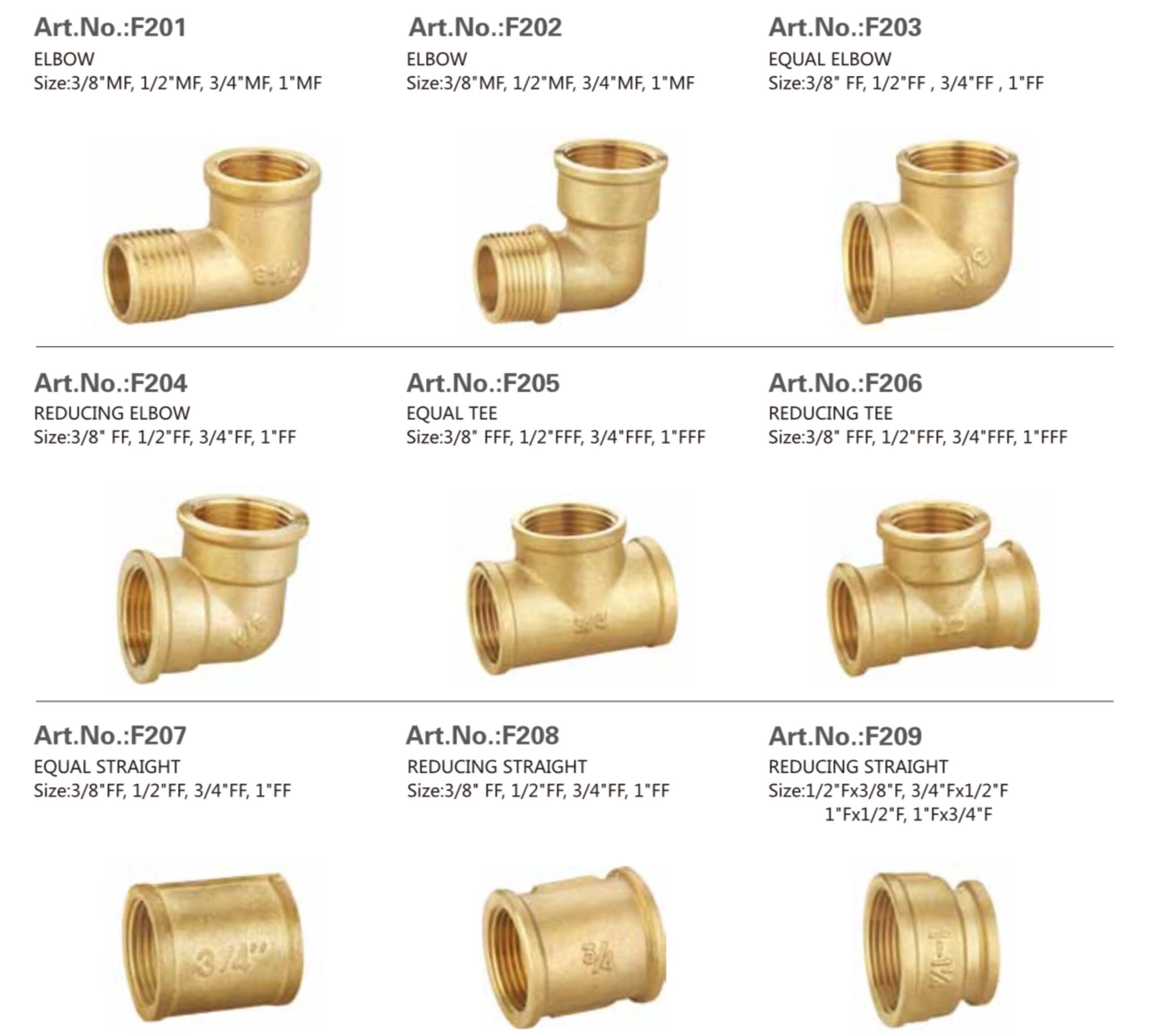a801eb208 Brass Fittings Manufacturer and Supplier in China
