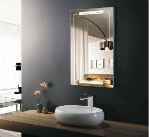 electric bathroom mirror light